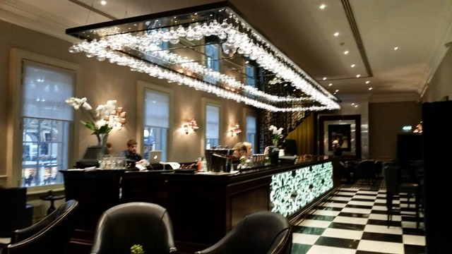 A good place for client meetings in London: The Grosvenor, London